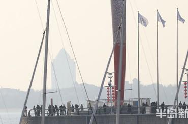 雾蒙蒙 青岛发布重污染天气黄色预警