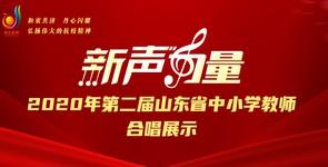 2020年第二届山东省中小学教师合...