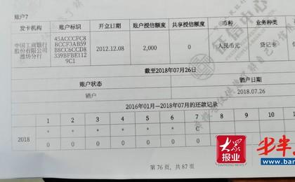 潍坊:被办信用卡奔波7年多,接投诉后工商银行才...