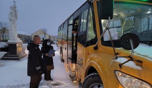 学生停课一天!莱西北部降雪较大 5乡镇近100辆校车停运