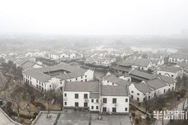 青島:霧氣繚繞 中國院子別樣美