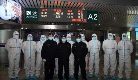 新春走基层 | 青岛火车北站疫情检测点的民警故事