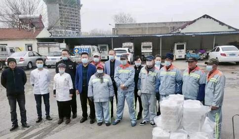 送元宵、送饺子 青岛环卫工人收到暖心午餐