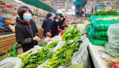 元宵备夜宴,青岛部分蔬菜价格不同程度下浮