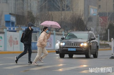 青岛:春雨绵绵