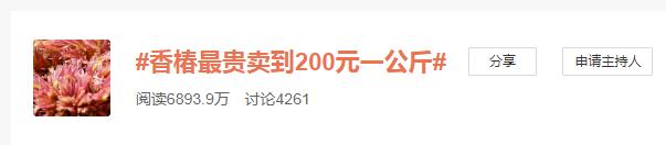 「股票开户网上开户」春季限定美食!香椿被云南农户卖上200元一公斤
