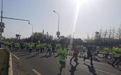 8000人参与!青岛西海岸半程马拉松鸣枪开跑