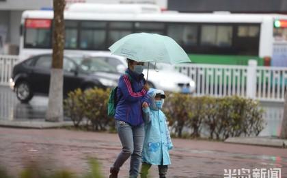 清晨出门雨濛濛!青岛降雨过程将持续一天 明日还...