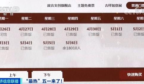 """""""五一""""期间故宫一票难求?黄牛炒票一张""""邀请函""""1200元"""