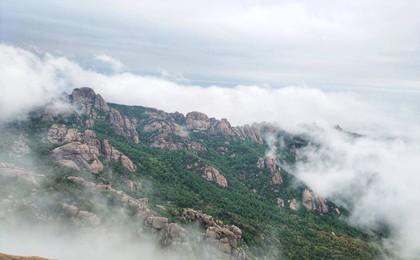 壮观!五一节假日 崂山巨峰开启云海观赏模式