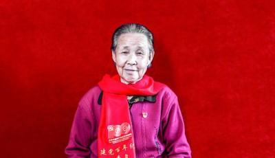 丹心一片 风华百年丨89岁老党员唐玉花:我有一分力就发一分光