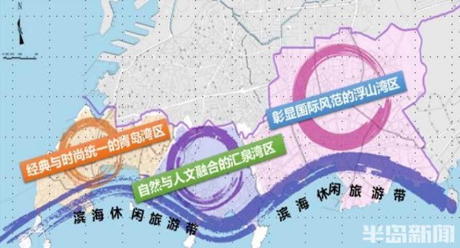 """青岛市南区""""十四五""""规划出炉!太平路要建地下隧道 小港湾项目总投资100亿元"""