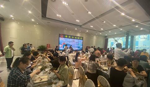 粽情粽意|今年市北区总工会端午包粽子活动仪式感满满
