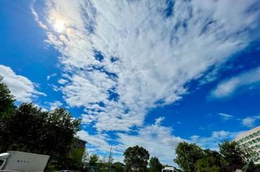 云开雾散,再现青岛蓝