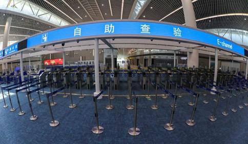 """更便捷!胶东国际机场将全面推行""""无感通关"""""""
