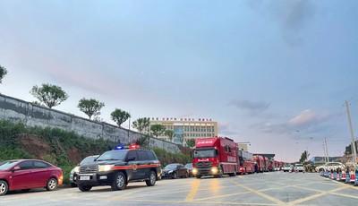 紧急驰援!山东消防274名指战员跨区域增援河南