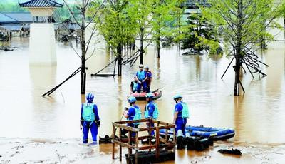 青岛力量 千里驰援!多支队伍赶赴河南 已开始应急救援工作