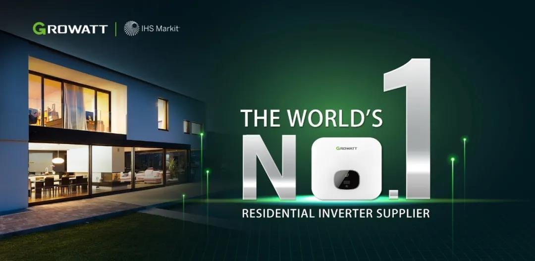IHS Markit权威报告,古瑞瓦特户用逆变器市场占有率全球第一