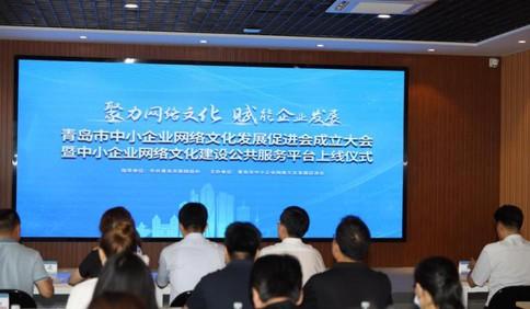 这就是山东·青岛|青岛市中小企业网络文化发展促进会成立
