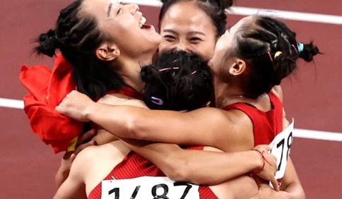 呼啸东京!4×100米接力中国男子第四女子第六