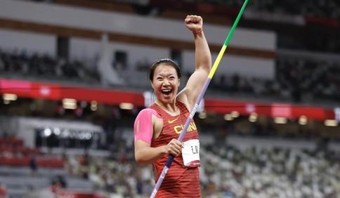 一掷成金!山东姑娘刘诗颖夺得中国首枚奥运标枪金牌