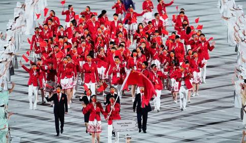 奥运热词TOP20 原来你是这样的中国体育代表团