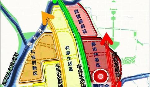 """青岛流亭机场片区将打造""""未来之城"""""""