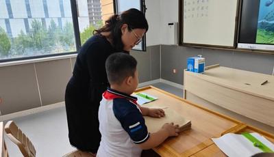 青岛市盲校教师尚冬梅:从时刻陪伴到教学生自理、自立,她成就了孩子也成就了自己