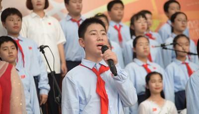 青春之歌!祝福祖国