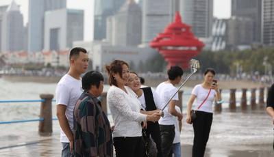 国庆假期第三天 青岛景区客流持续井喷