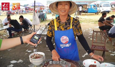 中国红·齐鲁行丨假期赶琅琊大集,坐着马扎喝羊汤,要的就是这小时候的味儿