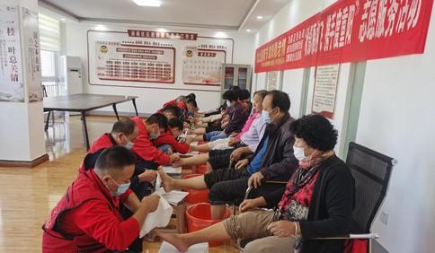 即墨区:携手度重阳,志愿者服务116位老人