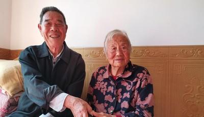 重阳日,钻石婚丨抗美援朝91岁老兵纪恩同:当年借了辆自行车 把她娶回家