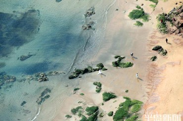 青岛:海蓝蓝 岸线美